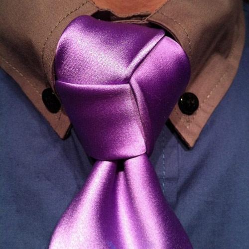 Học cách thắt cà vạt đẹp cho chàng - 4