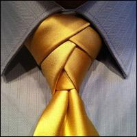 Học cách thắt cà vạt đẹp cho chàng