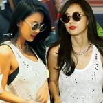 Thời trang - Lee Hyori vô tư để lộ áo nịt ngực