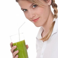 Giảm cân với nước ép rau quả