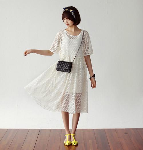 Lý do nên chọn váy dài dạo phố - 1