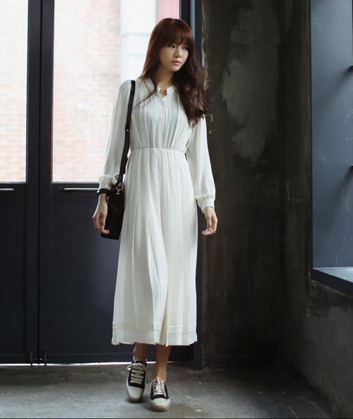 Lý do nên chọn váy dài dạo phố - 17