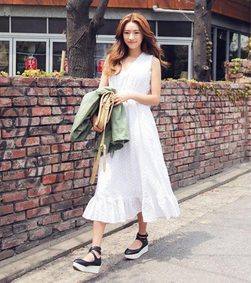 Lý do nên chọn váy dài dạo phố - 10