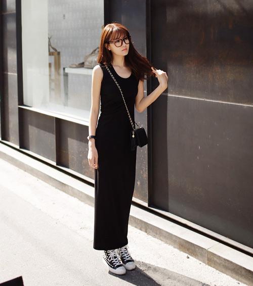 Lý do nên chọn váy dài dạo phố - 2