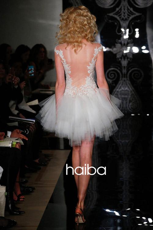 Khoe lưng trần - xu hướng váy cưới 2014 - 9