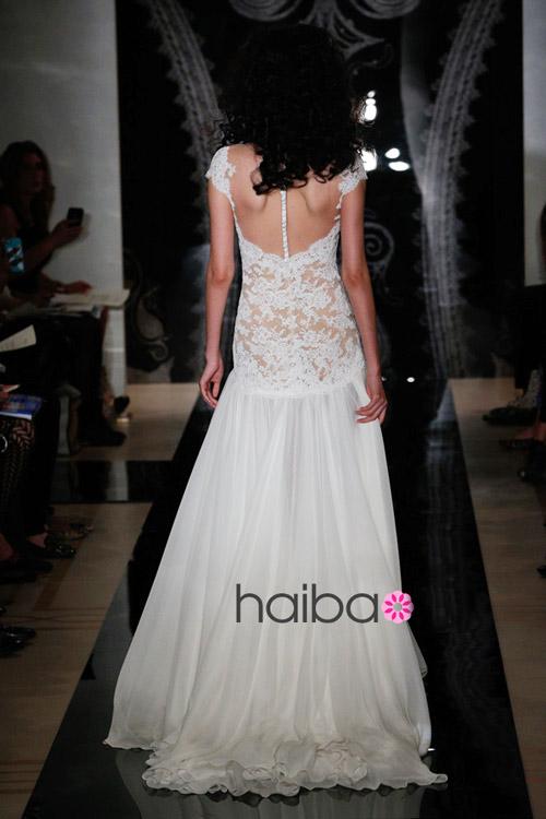 Khoe lưng trần - xu hướng váy cưới 2014 - 11
