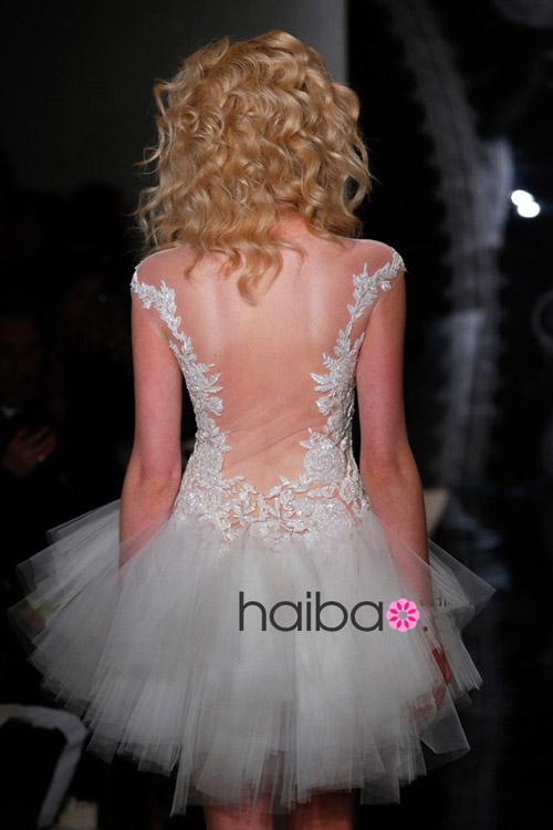 Khoe lưng trần - xu hướng váy cưới 2014 - 13