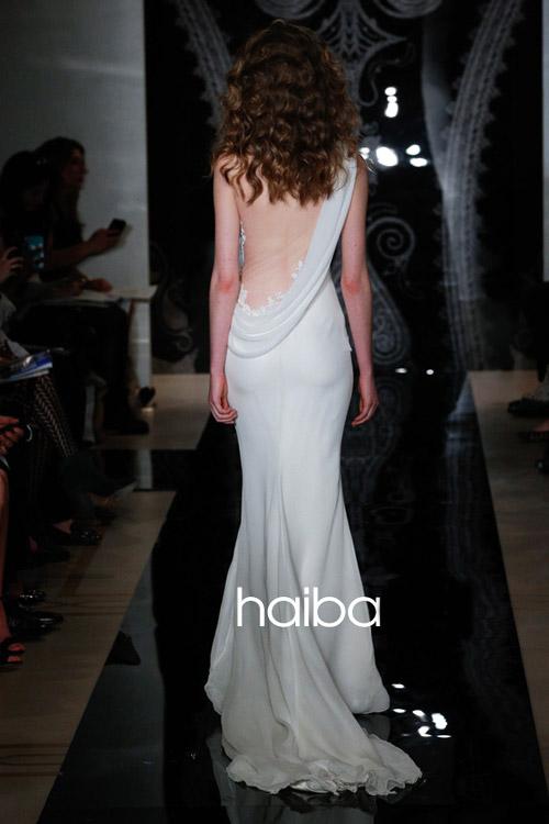 Khoe lưng trần - xu hướng váy cưới 2014 - 14