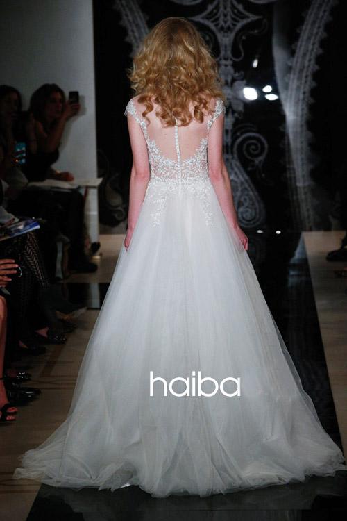 Khoe lưng trần - xu hướng váy cưới 2014 - 17