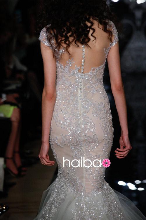 Khoe lưng trần - xu hướng váy cưới 2014 - 18
