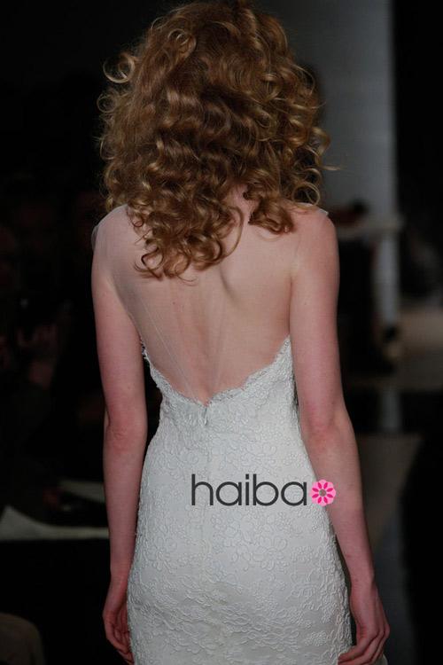 Khoe lưng trần - xu hướng váy cưới 2014 - 20