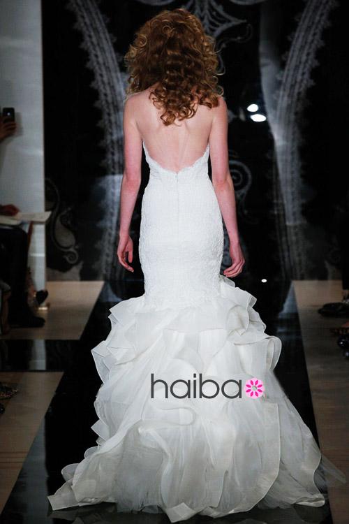 Khoe lưng trần - xu hướng váy cưới 2014 - 7