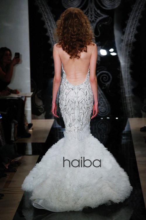 Khoe lưng trần - xu hướng váy cưới 2014 - 8