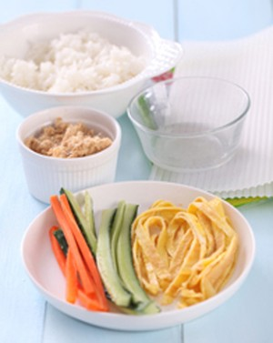Cách làm cơm cuộn đơn giản mà ngon - 1
