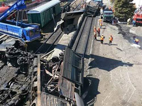 Nga: Cháy tàu hóa chất, 2.700 người sơ tán
