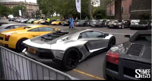 350 chiếc Lamborghini quần tụ mừng đại lễ - 3