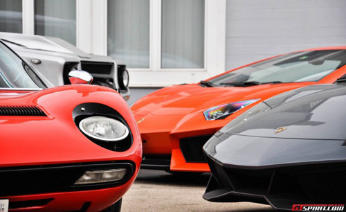 350 chiếc Lamborghini quần tụ mừng đại lễ - 5