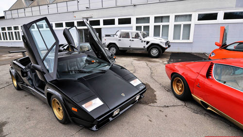 350 chiếc Lamborghini quần tụ mừng đại lễ - 8