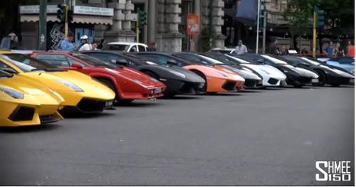 350 chiếc Lamborghini quần tụ mừng đại lễ - 1