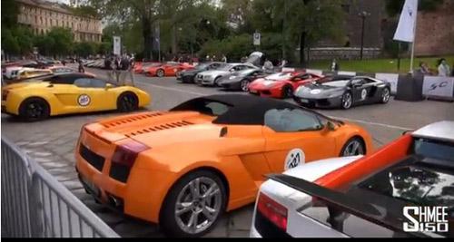 350 chiếc Lamborghini quần tụ mừng đại lễ - 2