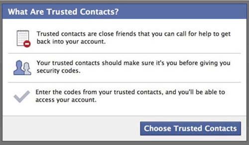 Cách lấy lại mật khẩu Facebook nhờ bạn bè - 2