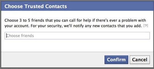 Cách lấy lại mật khẩu Facebook nhờ bạn bè - 3