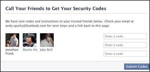 Cách lấy lại mật khẩu Facebook nhờ bạn bè - 4