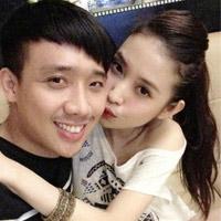 Ảnh tình tứ của Trấn Thành và bạn gái hot girl