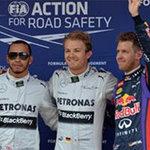 Thể thao - F1-Phân hạng Spanish: Pole lần thứ hai cho Rosberg