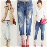 Thời trang - Boyfriend jeans cho cô nàng tinh nghịch!