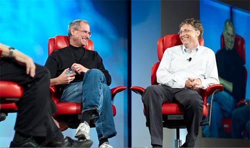 """Bill Gates """"nhớ"""" Steve Jobs - 2"""