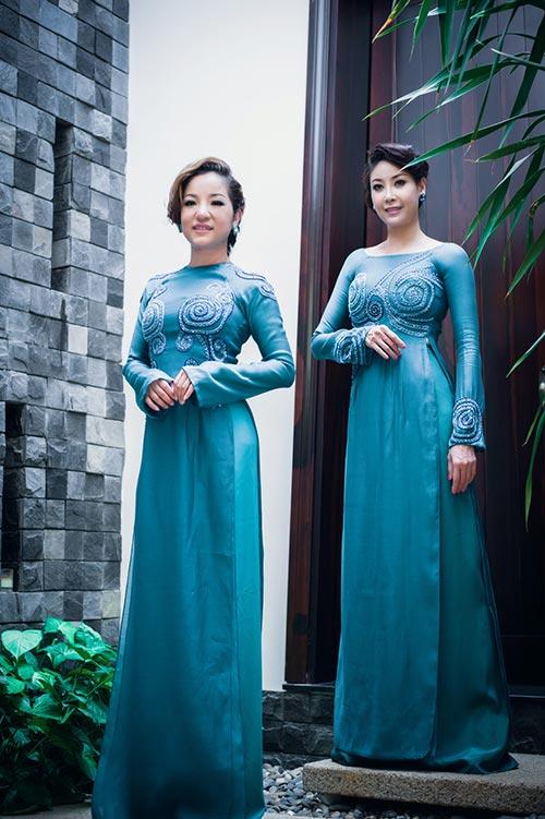 Hà Kiều Anh, Thúy Nga khoe dáng - 2