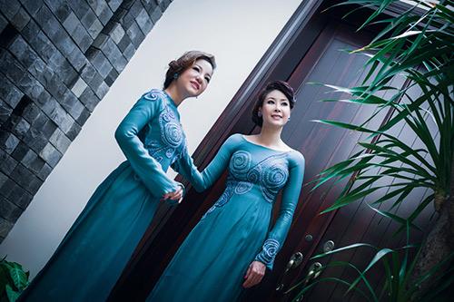 Hà Kiều Anh, Thúy Nga khoe dáng - 4