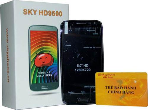 SKY HD9500 - Điện thoại siêu mỏng giá dưới 5 triệu đồng - 5