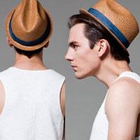 Thời trang mũ hè cho chàng