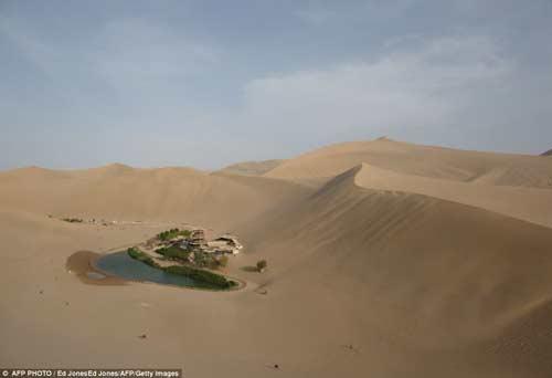 TQ: Ốc đảo tí hon 2.000 tuổi giữa sa mạc - 2