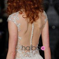 Khoe lưng trần - xu hướng váy cưới 2014