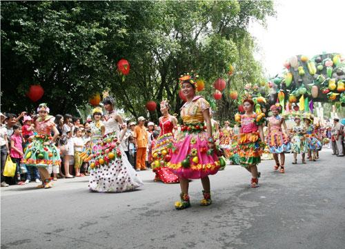 Đặc sắc lễ hội trái cây Nam bộ tại Suối Tiên - 1