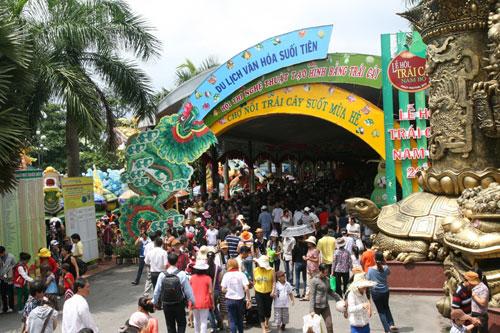 Đặc sắc lễ hội trái cây Nam bộ tại Suối Tiên - 3