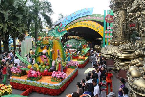 Đặc sắc lễ hội trái cây Nam bộ tại Suối Tiên - 6