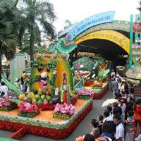 Đặc sắc lễ hội trái cây Nam bộ tại Suối Tiên