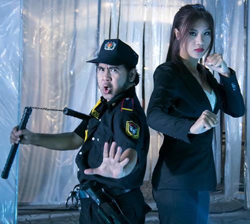 """Hai vệ sĩ """"siêu lạ lùng"""" của phim Việt - 9"""