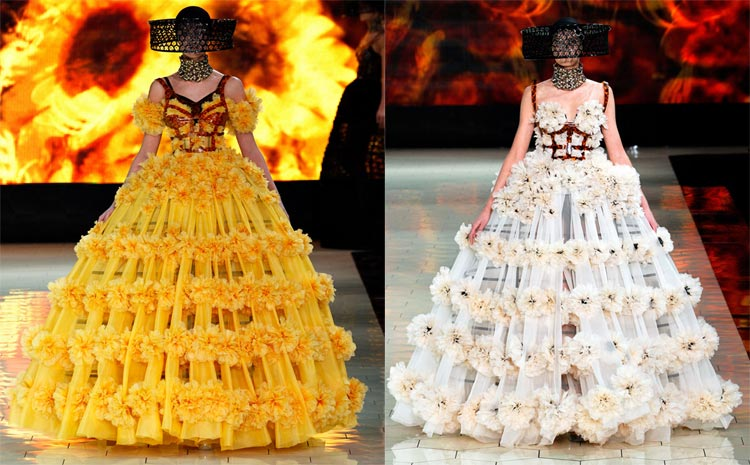 Xu hướng in hoa của thời trang thế giới - 18
