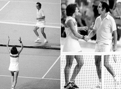 """Tennis: 40 năm """"Trận chiến giới tính"""" - 3"""