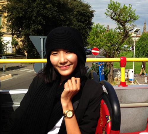 Nghệ sĩ Việt xinh tươi ở trời Âu - 5