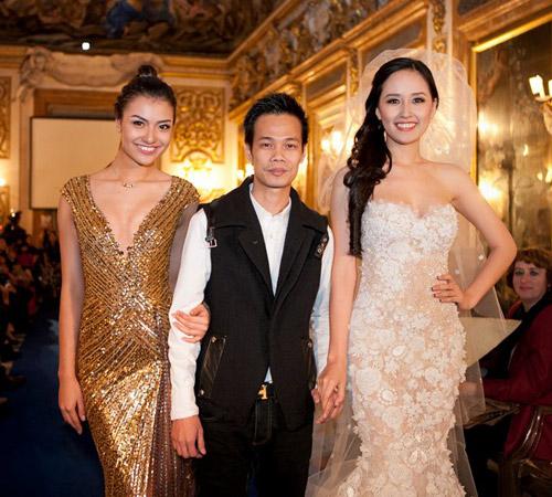 Nghệ sĩ Việt xinh tươi ở trời Âu - 9