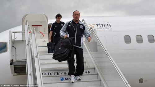 Chelsea mang Hazard và Terry tới Amsterdam - 7