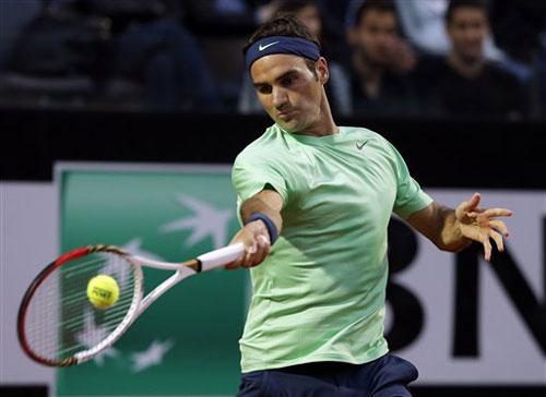 Federer - Starace: Đánh nhanh thắng nhanh (V2 Rome Masters) - 1