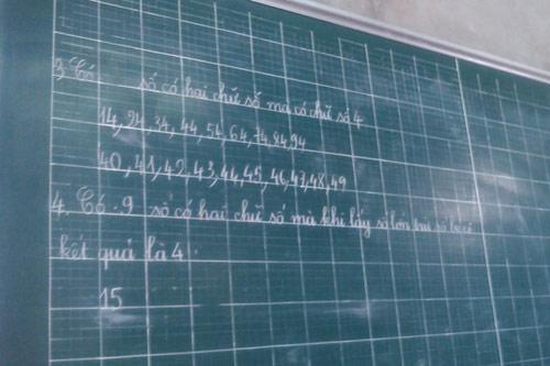 Cả làng cho con học thêm trước khi lớp 1 - 3