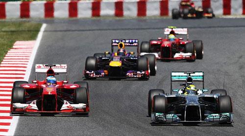 F1 - Spain GP: Phía sau vạch đích - 2
